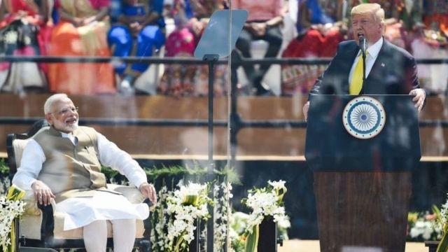 ट्रम्पको भारत भ्रमण