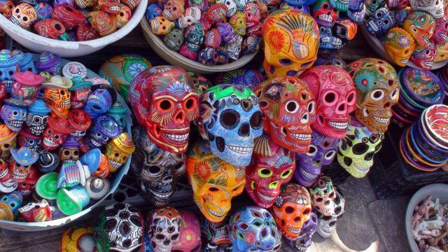 멕시코는 죽음을 문화의 일부로 받아들였다
