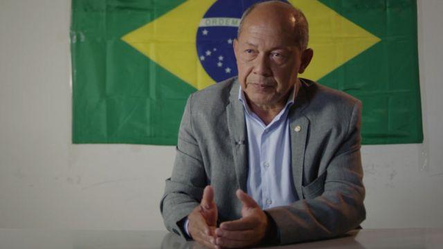 Coronel Chrisóstomo em entrevista à BBC