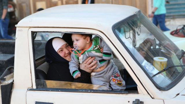 سيدة سورية
