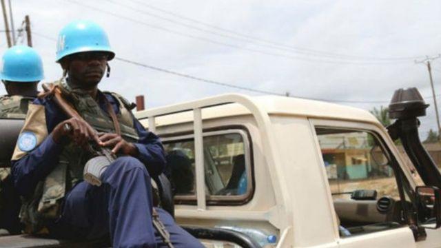 Abasirikare bo mu mutwe wa ONU ubungabunga amahoro muri Republika ya Centrafrique
