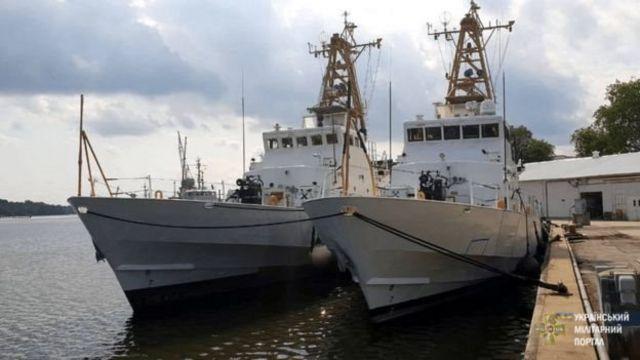 Американские катера Cushing и Drummond класса Island