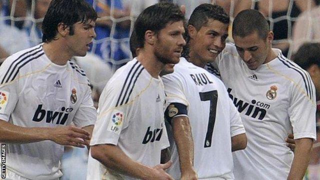 كريستيانو رونالدو انضم إلى ريال مدريد عام 2009