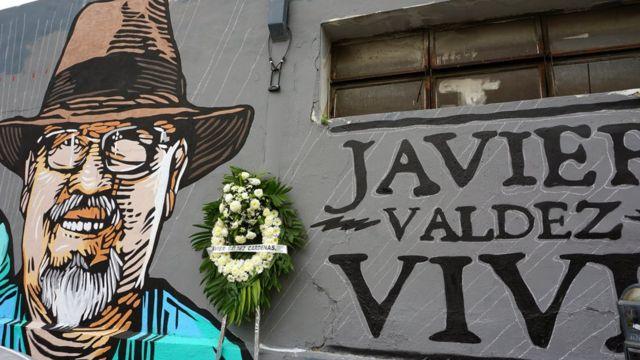 Mural en honor a Javier Valdez