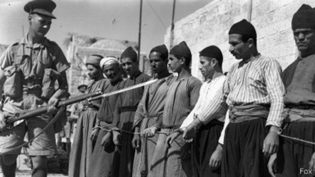 Le mandat britannique de la Palestine a régné entre 1920 et 1948.