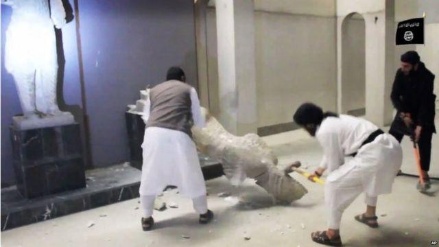 Why IS militants destroy ancient sites
