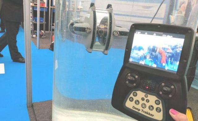 ยานใต้น้ำและอุปกรณ์ควบคุม