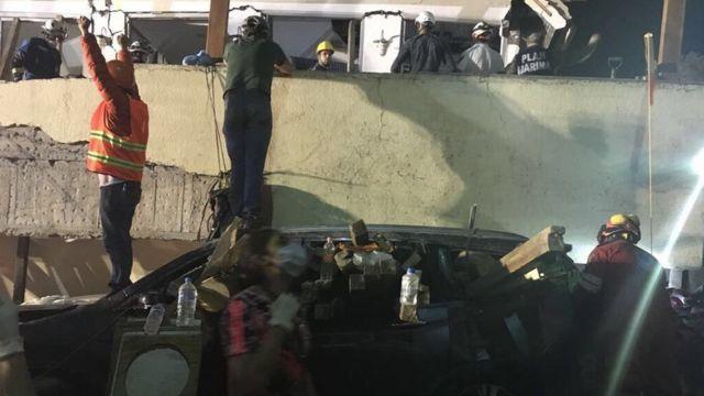 Mexico: Huge earthquake topples buildings, killing more than 200