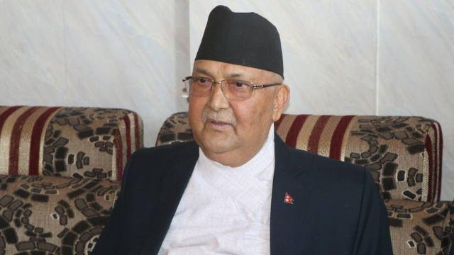 प्रधानमन्त्री केपी शर्मा ओली: 'आचरण बिगार्नेलाई म सहन्नँ' - BBC News नेपाली