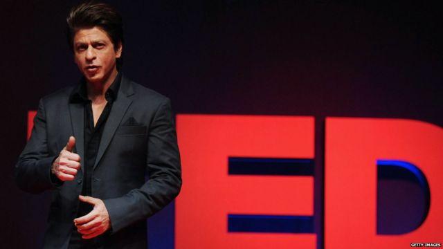 शाहरुखचा पहिला टेड टॉक कॅनडात झाला