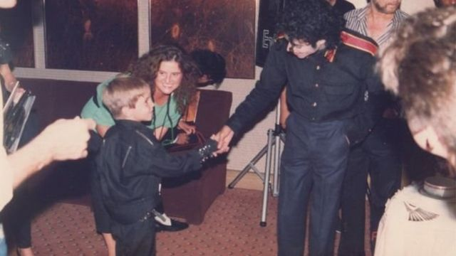 Michael Jackson ve Wade Robson
