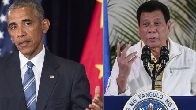 Rodrigo Duterte regrette que ses remarques à Barack Obama aient causé une telle controverse