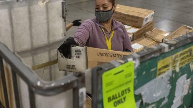 У штаті Орегон більшість виборців голосують поштою всі останні роки