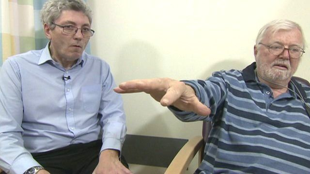 Paul Mayhew-Archer and Parkinson's patient
