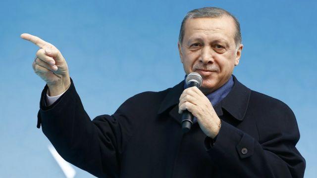 Туркия Президенти Ражаб Тойиб Эрдўғон