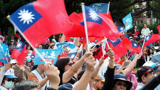 """這次選舉是蔡英文2016年當選台灣總統後,當地第一次大型地方選舉,因此又被視為台灣選民對蔡英文表現的一次""""公投""""。"""