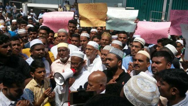 ரோஹிஞ்சாக்களுக்கு ஆதரவாக கிழக்கு மாகாண முஸ்லிம்கள் ஆர்ப்பாட்டம்