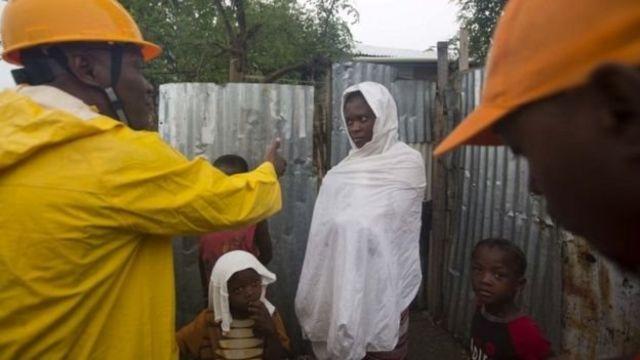 Le gouvernement haïtien encourage les habitants à risque à se déplacer