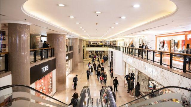 Shopping, centro de compras