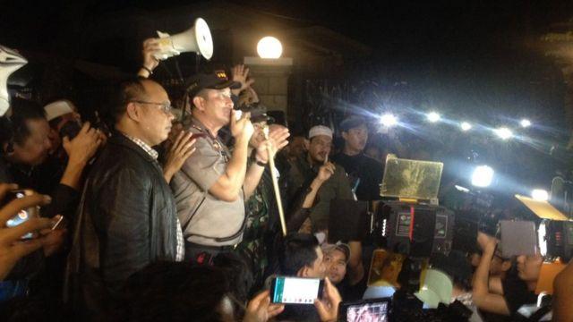 Pengepungan kantor LBH-YLBHI Jakarta