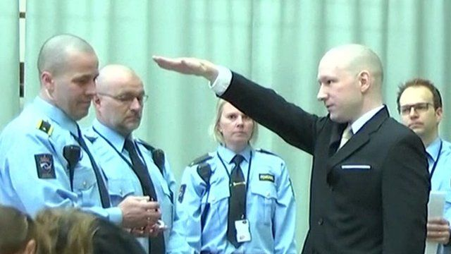 Breivik and police