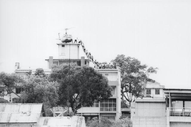 Эвакуация из Сайгона, 1975 год