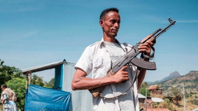 Soldado de Amhara.