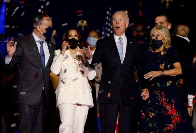 Júbilo de Biden