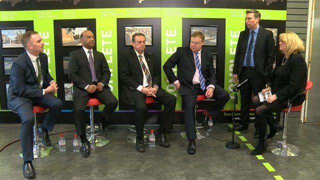 Cleveland police and crime commissioner candidates being questioned