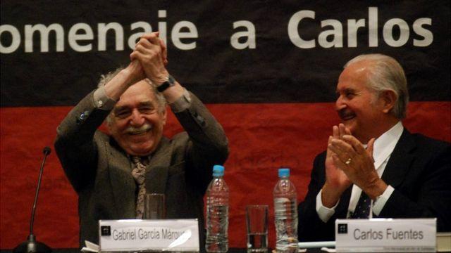 Gabriel García Márquez y Carlos Fuentes