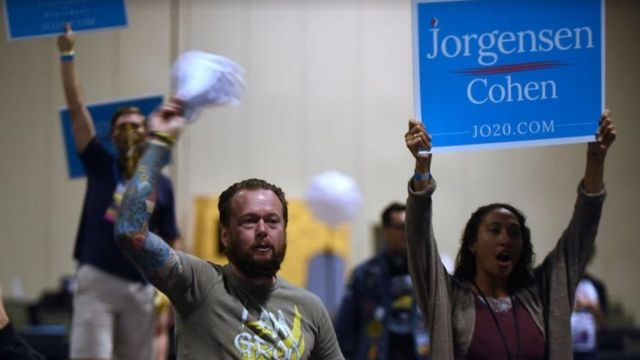 Seguidores de Jo Jorgensen