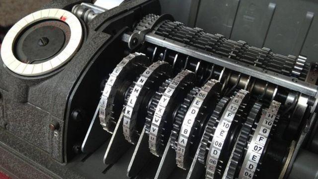 La empresa suiza Crypto fabricaba maquinas de encriptación CX-52.
