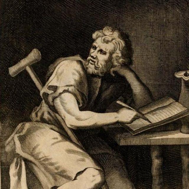Ilustração de Epiteto, que consta de livro de 1715