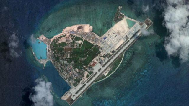 永兴岛卫星图片