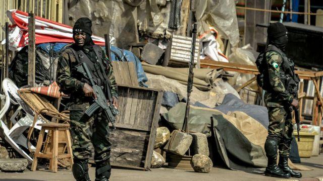 Des éléments de l'armée Camerounaise déployés en zone anglophone