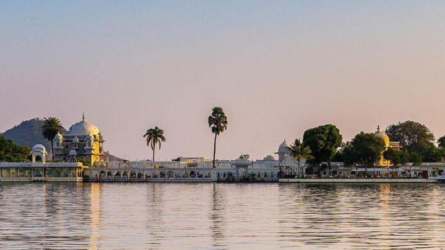 Palácio na Índia