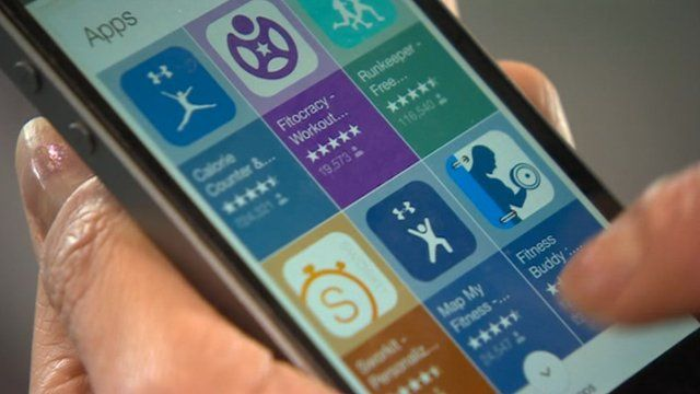 Calorie counting and fitness apps