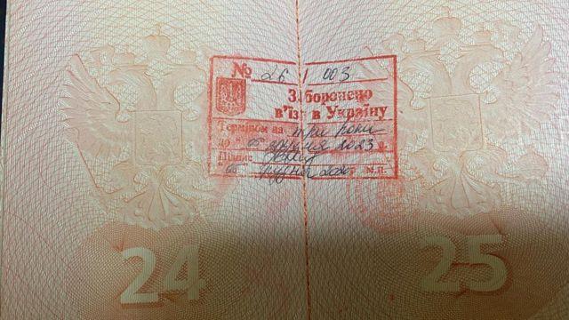 паспорт Мамонова