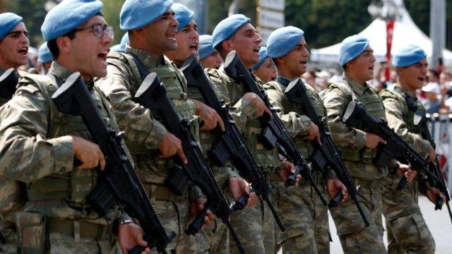الجيش التركي يقول إن عملياته ضد المتشددين ستتواصل خلال المناورات