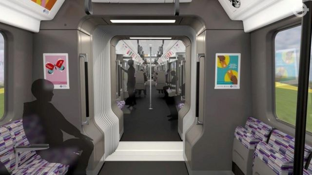 Crossrail train carriage features unveiled