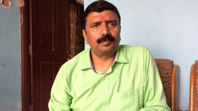 मनोज सिंह, भाजपा के स्थानीय नेता और शहाबुद्दीन के पूर्व साथी.