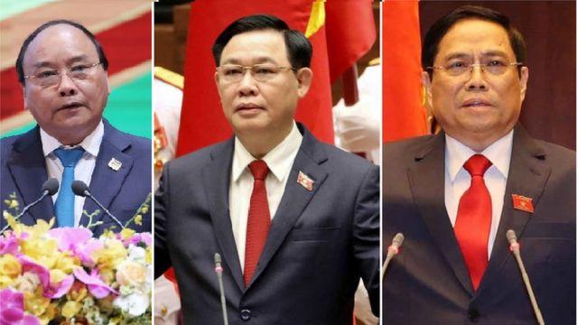 Ba tân lãnh đạo VN