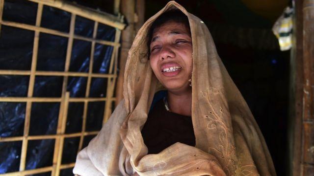 রোহিঙ্গা মা নূর বেগম ক'দিন আগে হারিয়েছেন তার ছয় বছর বয়সী সন্তান আলমকে।