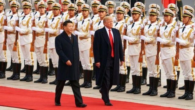 """Tổng thống Hoa Kỳ Donald Trump gần đây cho biết Hoa Kỳ và Trung Quốc đã đồng ý về """"rất nhiều điểm gai góc nhất"""""""