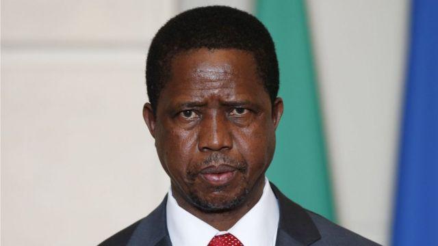 Edgar Lungu, le président zambien.