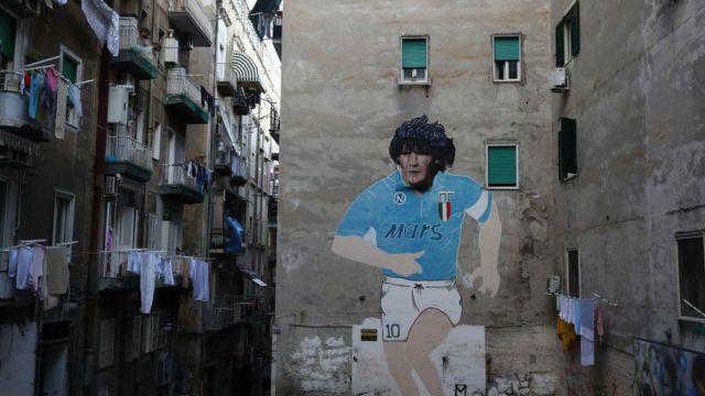 Mural de Maradona
