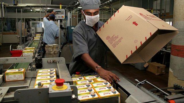 भारत का दूध उद्योग