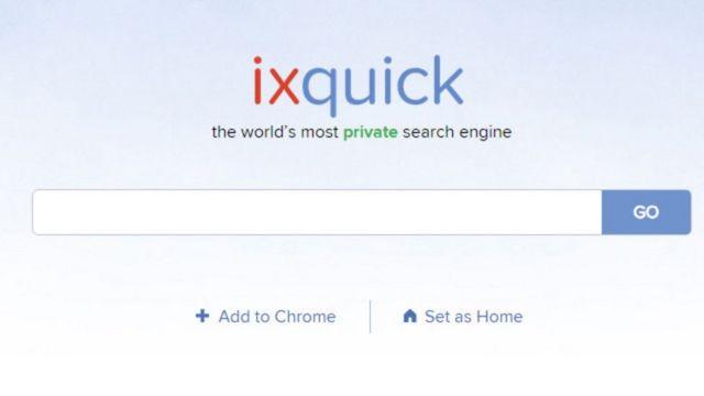 O buscador Ixquick