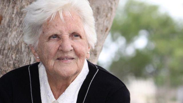 زن سالخورده
