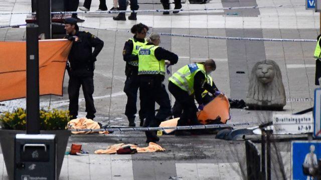 Сцена теракту